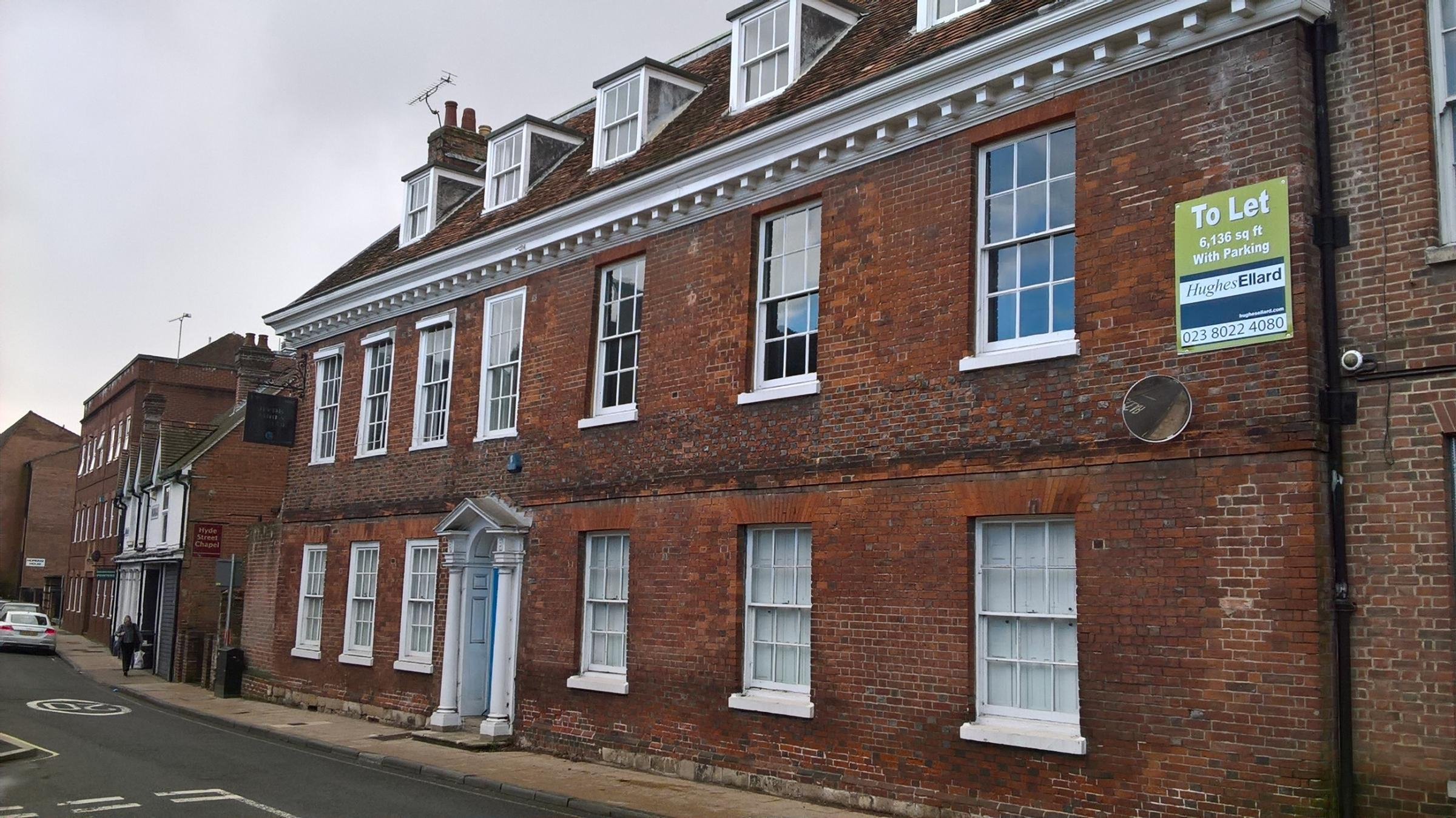 Hyde Abbey House on Hyde Street, Winchester