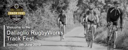 Dallaglio RugbyWorks Track Fest, 100, 57, 28 Miles, Sun 9th June