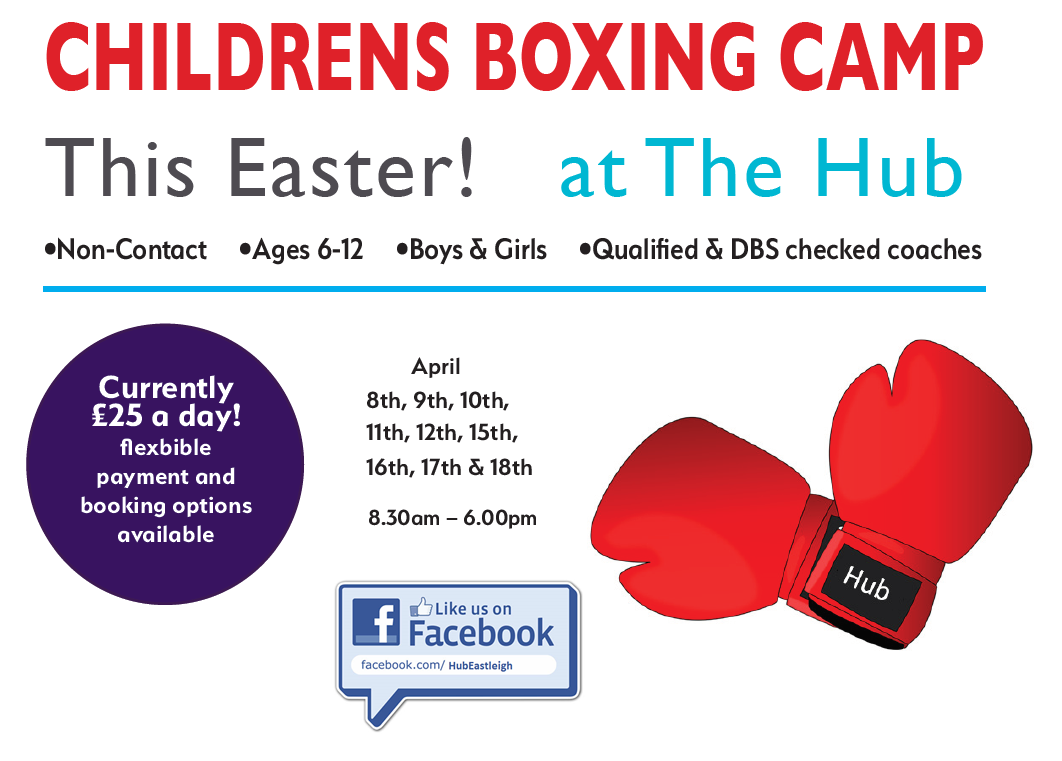 Childrens Boxing Camp @ The Hub - Easter