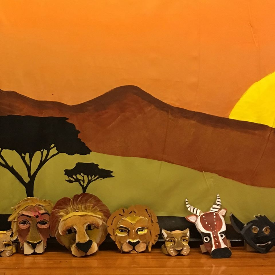 Lion King Mask Making and Performance Day