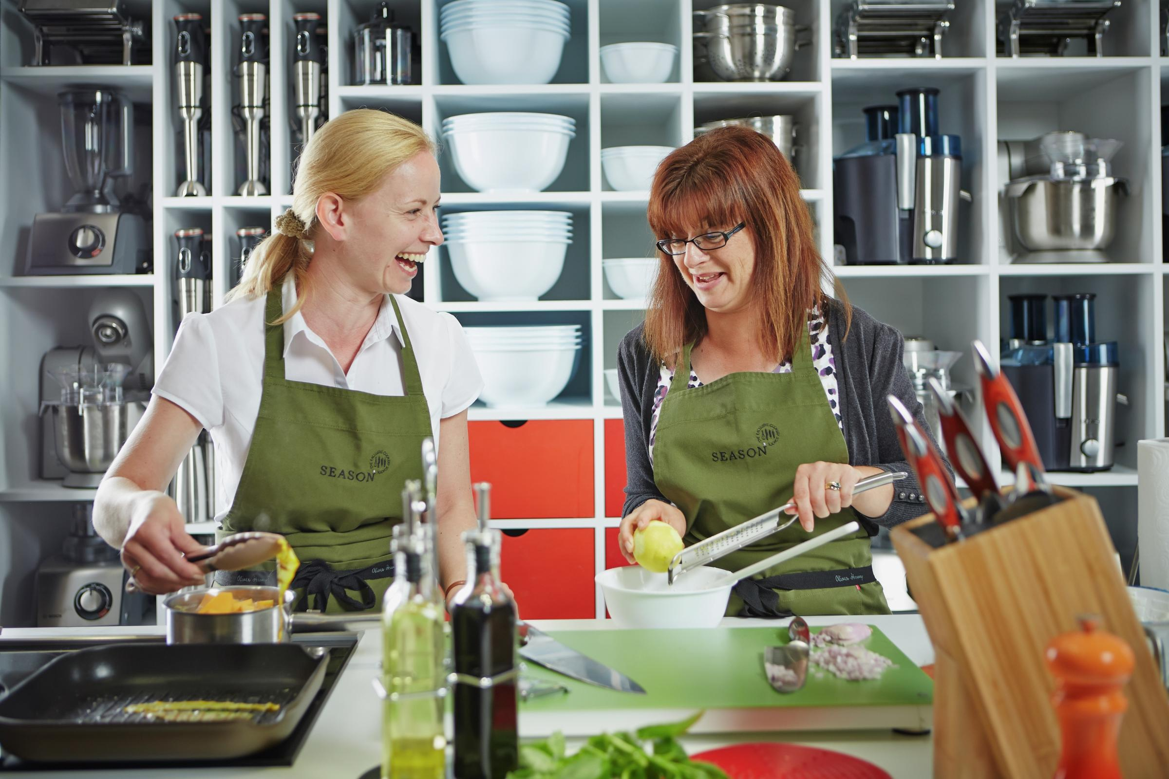 A Beginners Guide to cooking and Knife Skills  at Season Cookery School