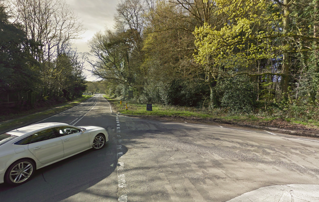 The junction of the A334 and B2177 (Google Maps)