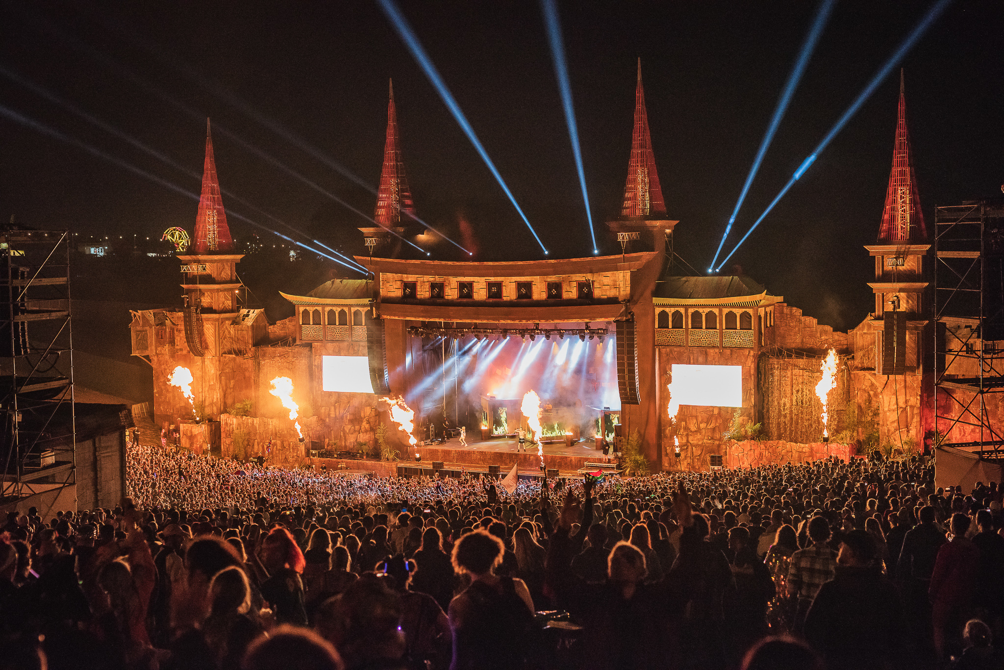 The getaway begins as Boomtown Fair comes to a close