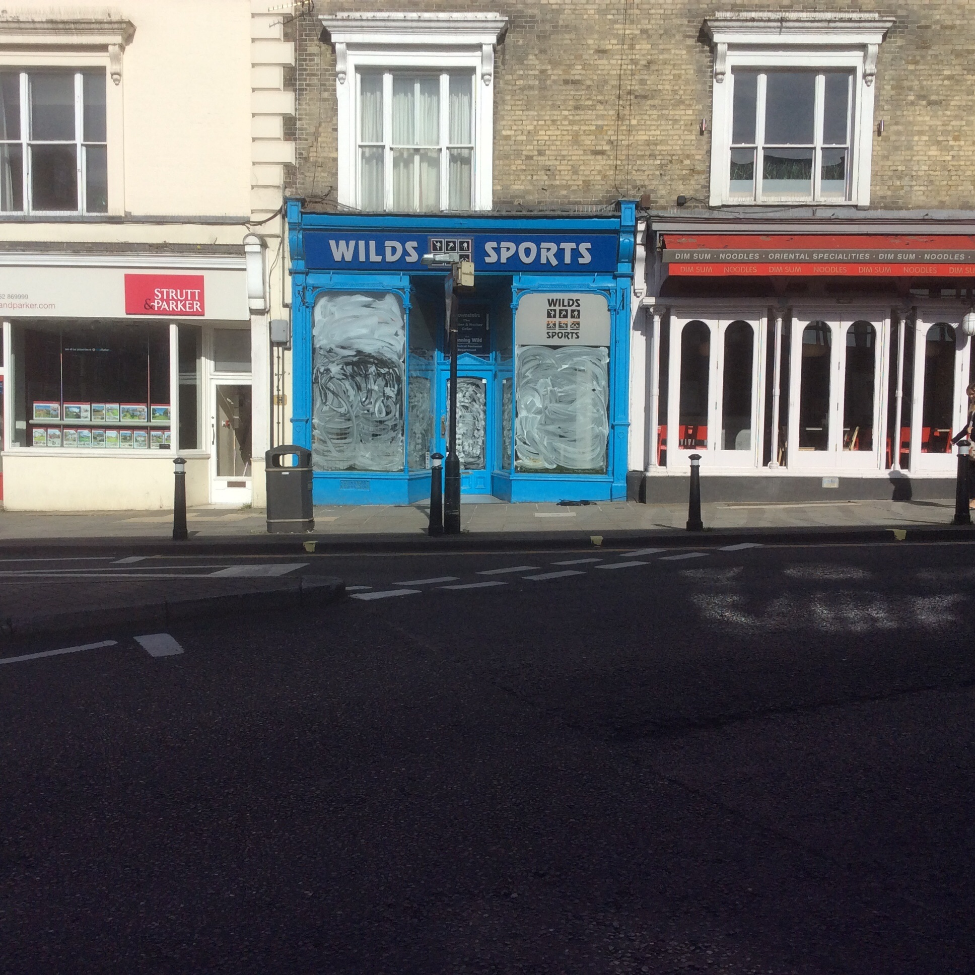 Wilds Sports, in Jewry Street, Winchester, has closed down