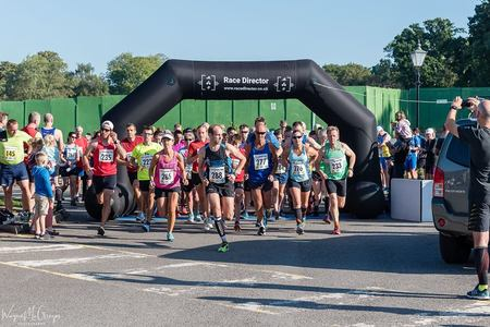 Andover Trail Half Marathon, September 2019