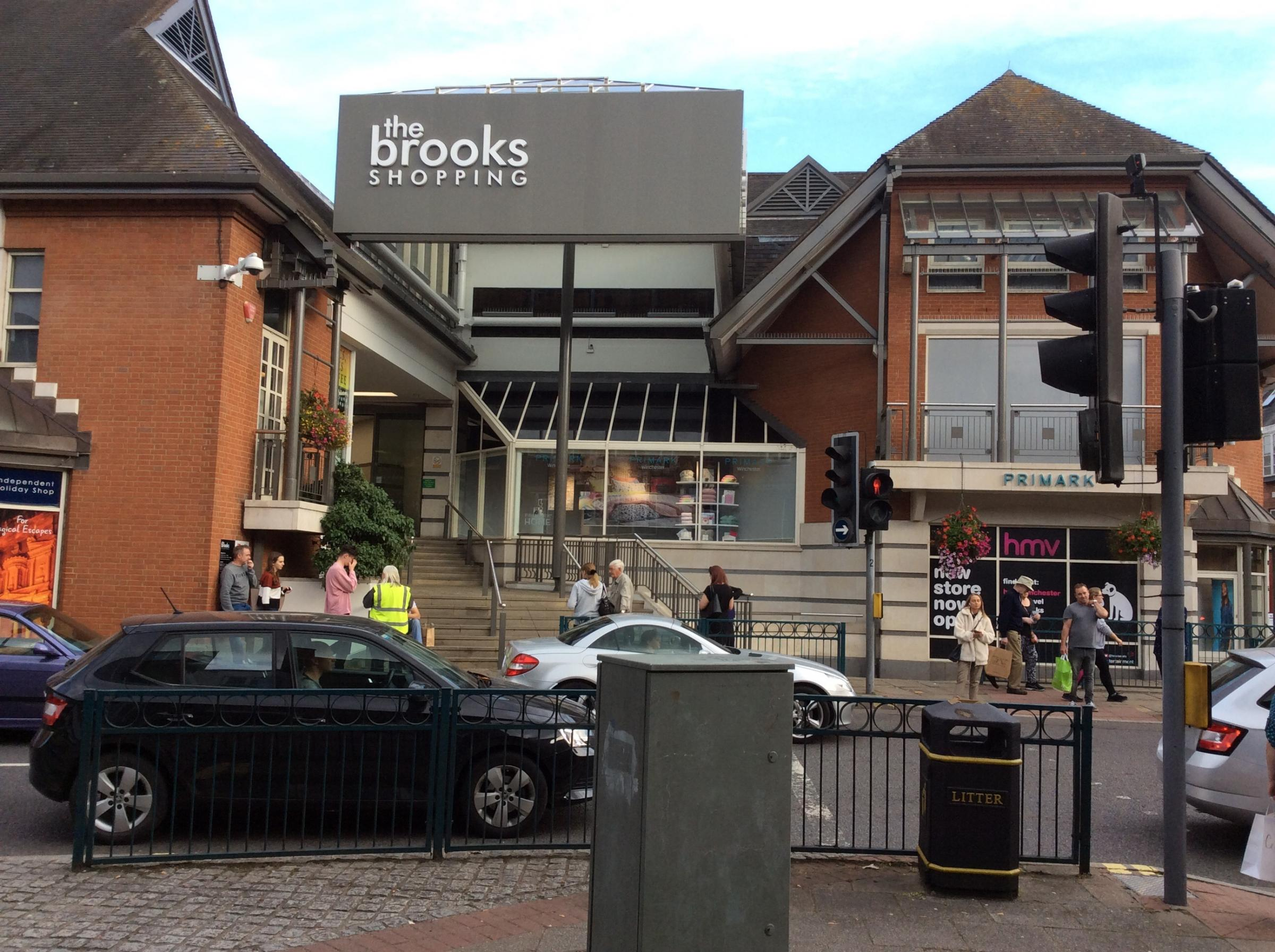 The Brooks Shopping Centre, Winchester