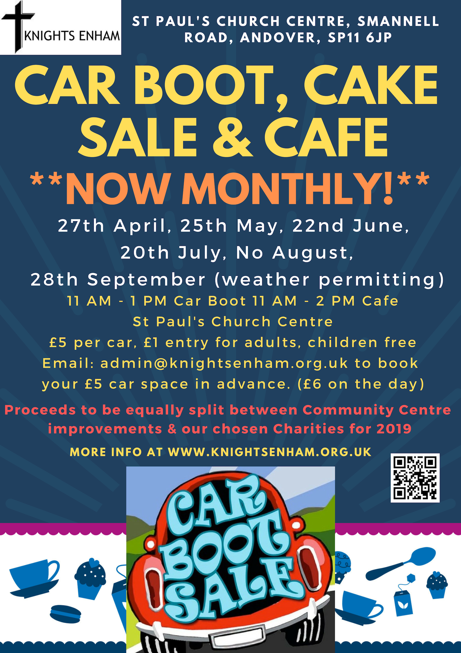 Car Boot & Cake Sale