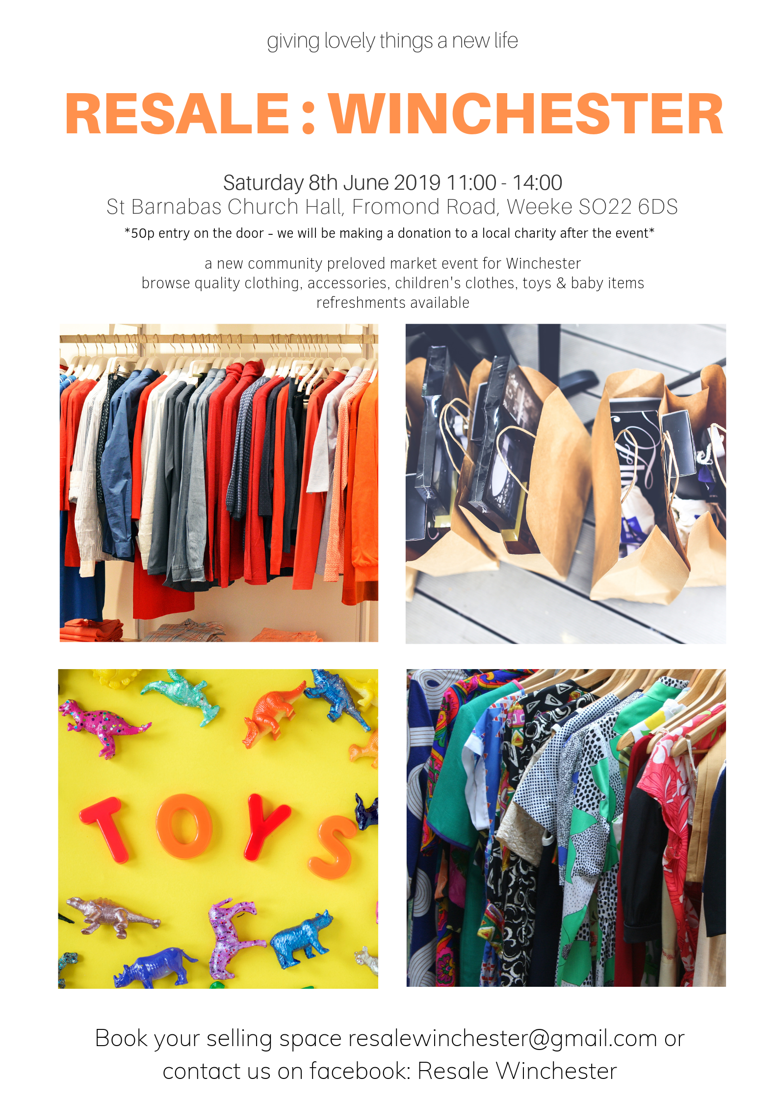 Resale Winchester: Clothes & Kids