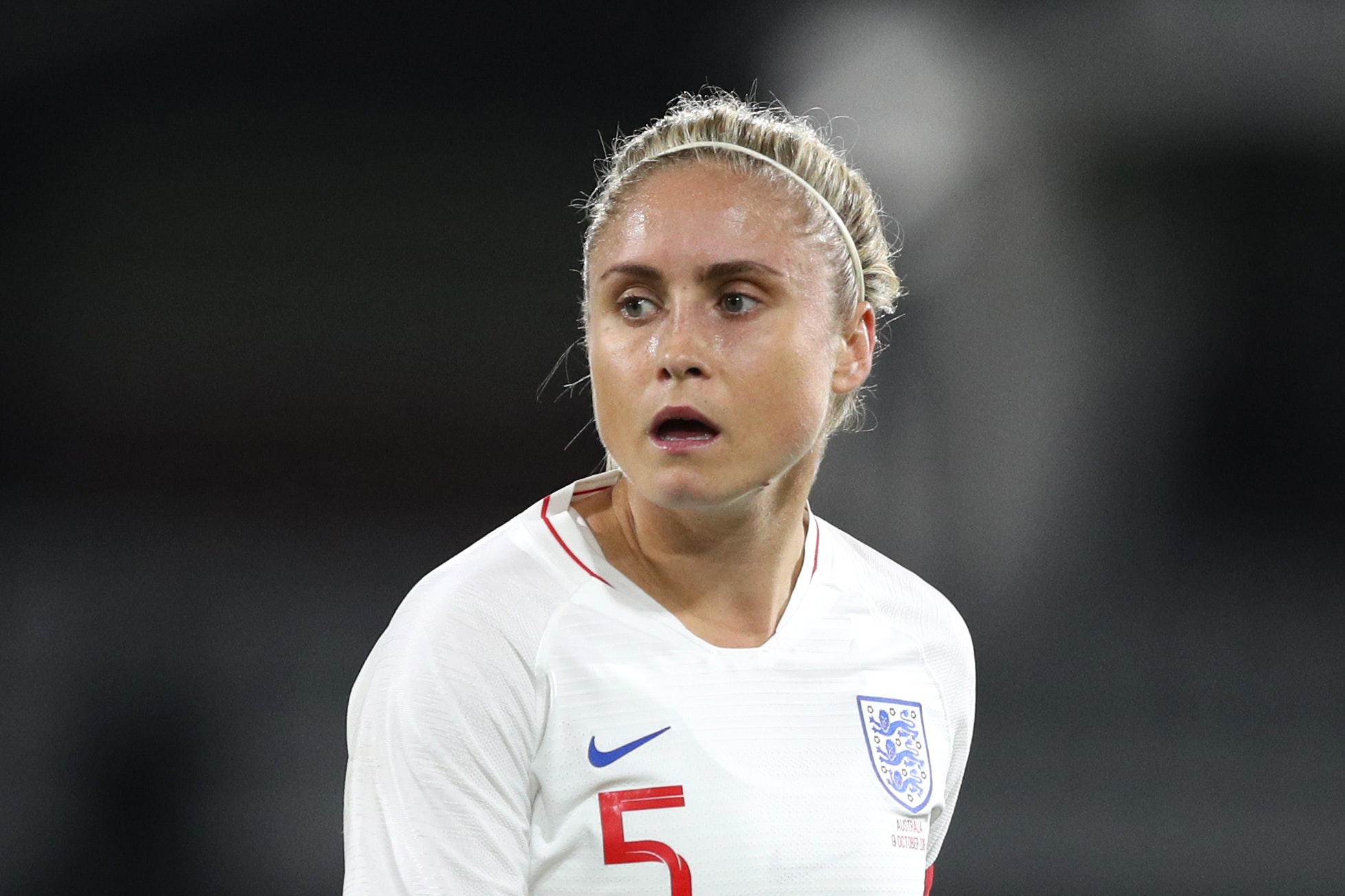 England captain Steph Houghton