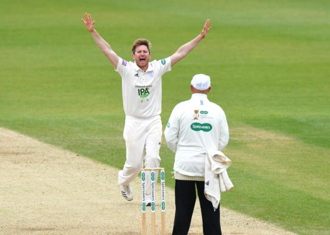 Liam Dawson took 2-16 as Warwickshire were bowled out for 109 today