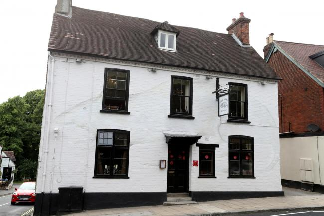 The Black Rat in Winchester has lost its Michelin Star